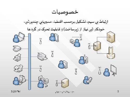 امنيت پروتکلهاي مسيريابي در شبکه هاي اقتضايي : Routing Protocols Security in Ad-hoc Networks